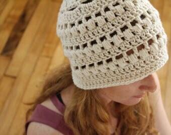 PATTERN - Easy crochet hat pattern - Textured crochet beanie pattern - Women's crochet hat pattern - pdf crochet pattern - Crochet supplies