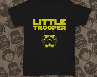 Star Wars Funny Kids Little Trooper T-shirt