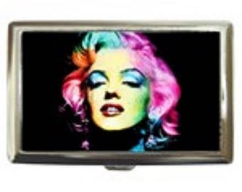 Marilyn Monroe-Rainbow -- Cigarette Case