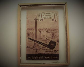 1930's Tobacciana, House of Westminster New York 1938-1939 Winter Catalogue of Pipes-Tobacco- Cigars- Smoking Accessories