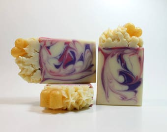 Flirt Soap, Cold Process Soap, Handmade Soap for Her, Soap with Shea Butter, Artisan Soap. Bath and Body Soap, Body Soap Bar, Scented Soap