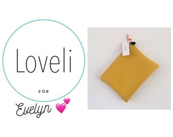 For Evelyn- Bright Yellow Purse