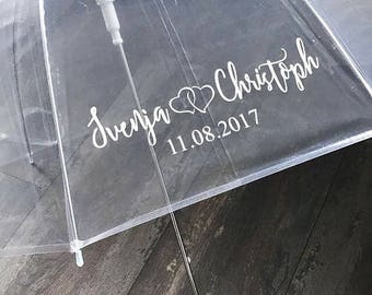 Sticker Umbrella Wedding Gift Gift Bridal