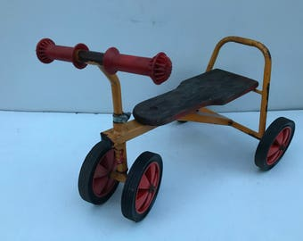 Old Draisienne Tricycle bike NORDY baby child Vintage 60's
