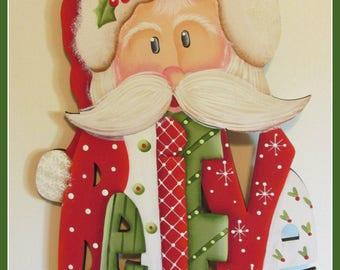 Believe Santa Wall Decor, door decoration, Christmas,