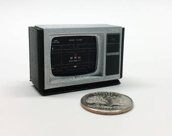Mini Texas Instruments Ti-99/6 monitor - 3D Printed!