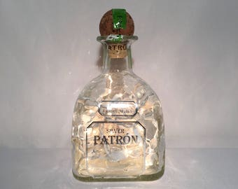 Patron Silver Tequila Lamp