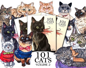 101 Cats Vol 2 Hardcover - Preorder