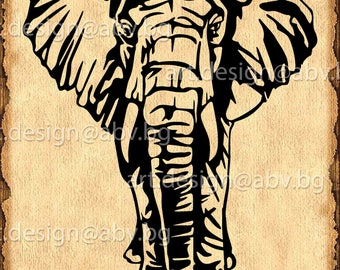 Vector  ELEPHANT, AI, eps, pdf, svg, dxf, png, jpg Download, graphical, animal, figuration, discount coupons