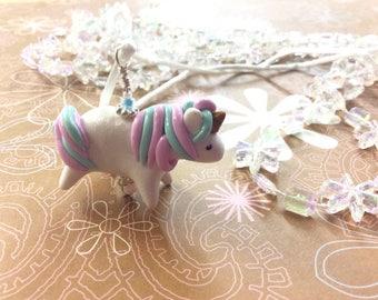 Unicorn Polymer Charm