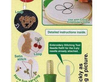 Embroidery sewing tool