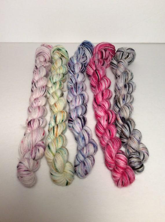 Small Skein Speckled Yarn