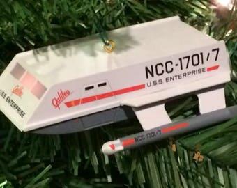 U.S.S. Enterprise Galileo Hallmark Keepsake Ornament 1992