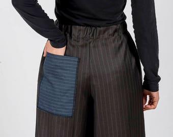 Trousers MoD. Brown Poppy/Pinstripe