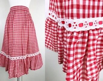 Ruffled Table Skirt Etsy