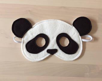 Soft Felt Panda Mask / Costume