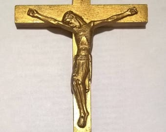 Religious relic, statue of Jesus, cross with the statue