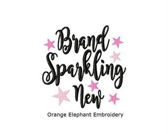 New Born Brand Sparkling New Unique Urban Machine Embroidery Design digital File
