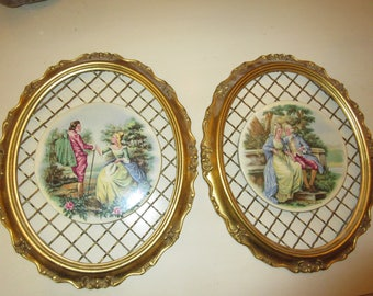 FRENCH ROMANCE WALL Hangings