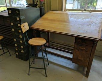 Drafting Table Etsy