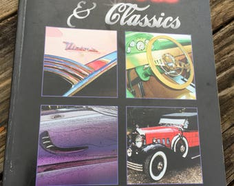Hot Rods & Classics Signed Vintage Car Book