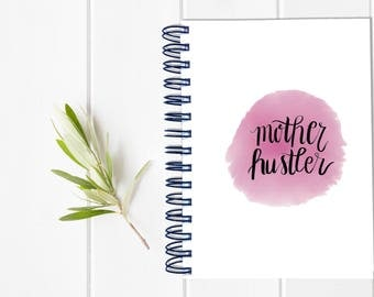 Large Sassy Mom Undated Planner - Bad Moms Day Timer - One Year Fill in Calendar - Weekly Planbook - Monthly Mom Boss Schedule Sister