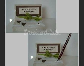Door pens wedding 'i love you'