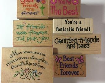 Various Sayings Stamps
