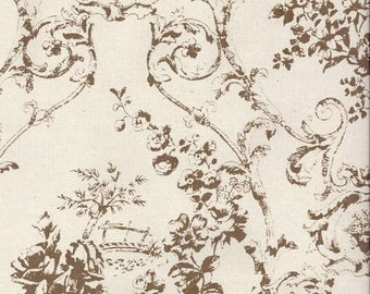 summer sale french garden toile shower curtain vine shower curtain chocolate natural 72 x 84 72