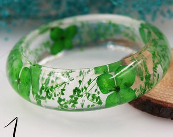 Resin bangle bracelet, Resin Ring, Flower Jewelry, Resin Jewelry, Dried Flowers, Resin Flower Jewelry, Nature Ring, Botanical Jewelry