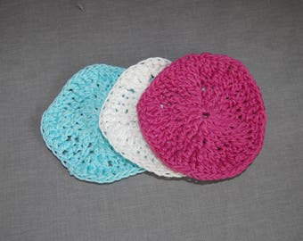 Textured Scrubby ~ 3 Pack