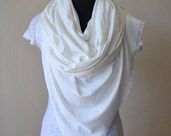 white scarf|wedding shawl|womens gift|for|women|bridal shawl|bridal cover up|wedding scarf|cotton scarf|wedding gift|for|mom|womens scarves