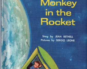 Easy Reader - The Monkey in the Rocket c. 1962