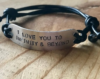 Custom mens bracelet adjustable bracelet for men adjustable bracelet personalized mens gift boyfriend gift personalized husband birthday
