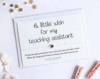 Teaching assistant | Etsy