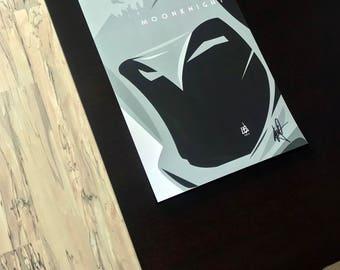 Marvel's Moonknight Contemporary Original Art Print (signed by the artist!)