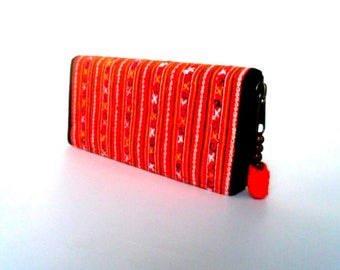 Boho Wallet, Bohemian Wallet, Embroidered wallet,  Women Wallet, Hippie Wallet, Ethnic Wallet, Boho Purse, Purse, Ethnic Purse, Gift