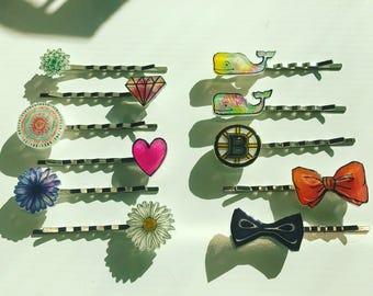 Custom Bobby Pins