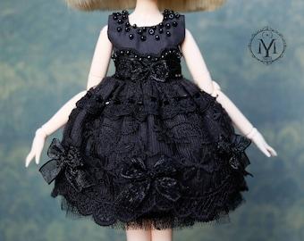 "OOAK Dress. Pullip Dress, Blythe Dress ""Notturno II"""