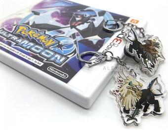 """2"""" TYPE: NULL / SILVALLY Pokemon Keychain"""