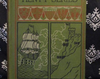 Under Drakes Flag A Tale of Spanish Main by G. A. Henty Published by Donohue Brothers 1907