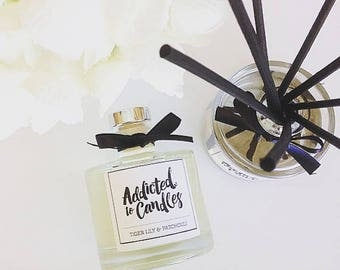 Tiger Lily & Patchouli Triple Scented 200ml  Reed Diffuser