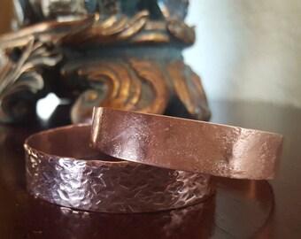 Hammered Copper Cuff, Cuff Bracelet, Copper Bracelet