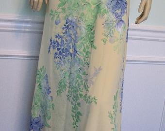 1990s Skirt Floral Size 14 Long 1990s Emma James Liz Claiborne