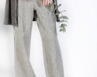 Linen Trousers, Maxi Pants, Yoga Pants, Black Pants, Loose Pants, Womens Linen Pants, Women Pants, Boho Pants, Hippie Pants, Harem Trousers