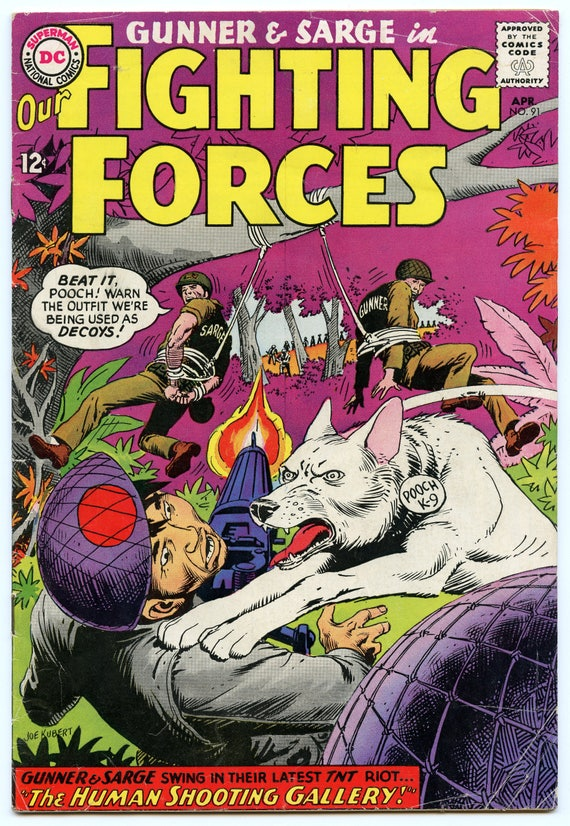 Our Fighting Forces 91 Apr 1965 VG (4.0)