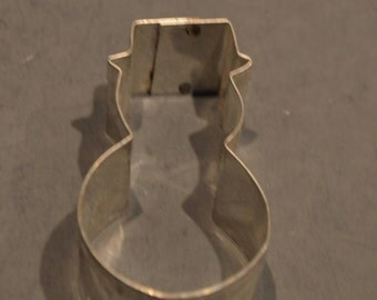 Vintage Metal Ice Cream Cone Cookie Cutter