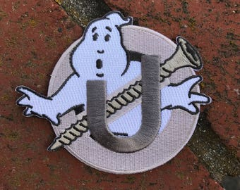 """Ghostbusters Screw U Patch 4"""" - Holtzmann Inspired Embroidered Patch"""