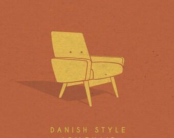 Danish Style Armchair