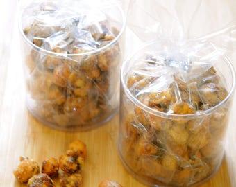 Caramel covered Hazelnut, natural nut candy, healthy snack, crispy Oregon Hazelnut, handmade roasted in small batch, artisan gift idea